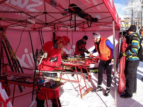 Servis lyží na podujatí alebo na Štrbskom Plese