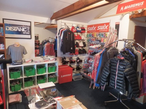 Predajňa a skladové priestory
